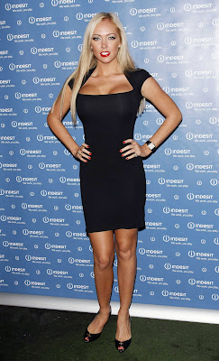 Aisleyne Horgan-Wallace In A Little Black Dress