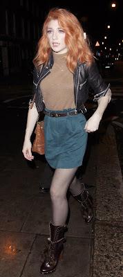 Nicola Roberts & Kimberley Walsh Leggy Candids