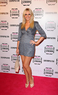 Zoe Salmon at the Cosmo Awards