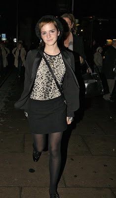 Emma Watson Leggy Candids