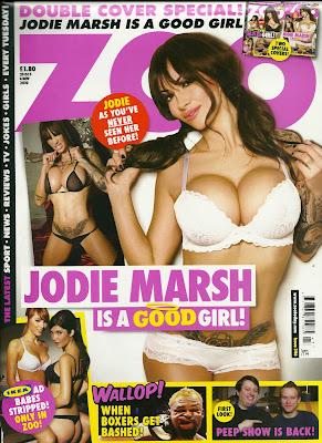 Jodie Marsh Lingerie Photoshoot