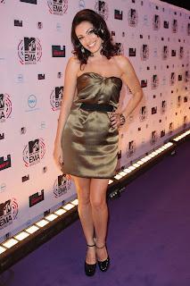 Kelly Brook at the MTV EMAs