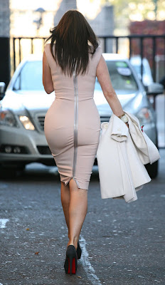 Carol Vorderman In A Tight Dress