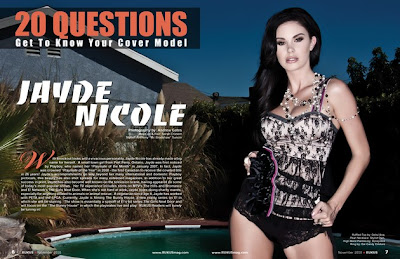 Jayde Nicole Rukus Photoshoot