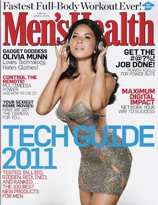 Olivia Munn Men's Health Cover