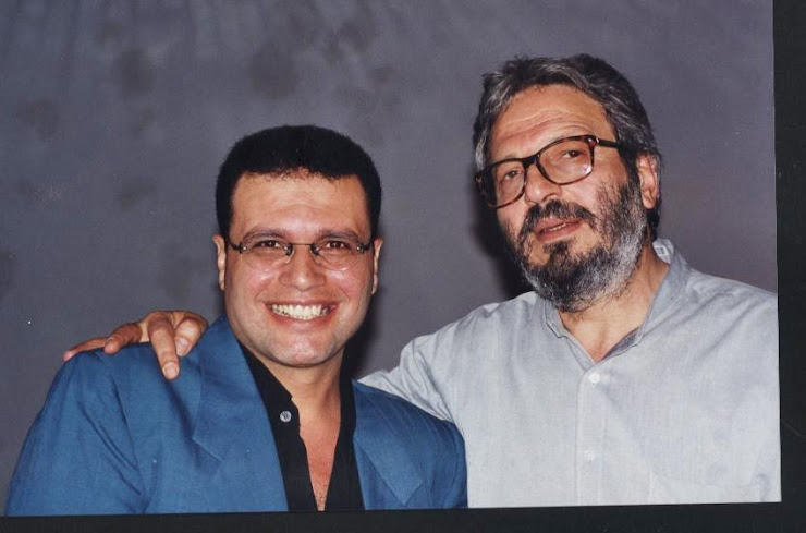 مع المخرج الكبير محمد ملص