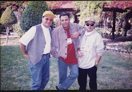 مع محمد فؤاد و محمد هنيدي