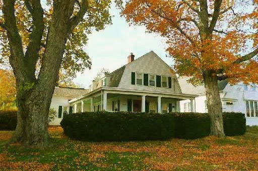 Historical Home Gambrel Colonial On Tolland Green