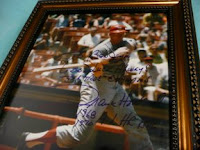 Slugger Frank Howard autographed photo