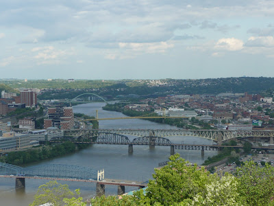 Pittsburgh view of bridges