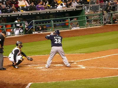 Prince Fielder batting