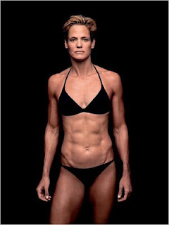 Ripped swimmer Dara Torres