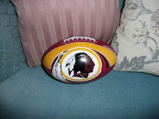Soft Washington Redskins football