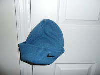 Baby blue Nike winter knit hat