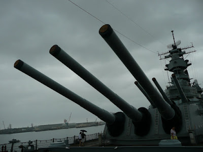 USS Missouri at Pearl Harbor