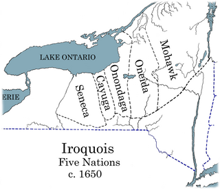 Iroquois Confederacy Map The Eastern White Pine...