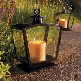 Candlelight in october cool outdoor lights - Landscape elements that you should consider for your yard ...