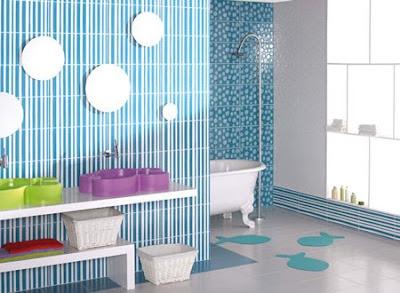 Baño de Sammy Ba%C3%B1o-infantil-decoracion-del-bano-para-ninos-muebles-