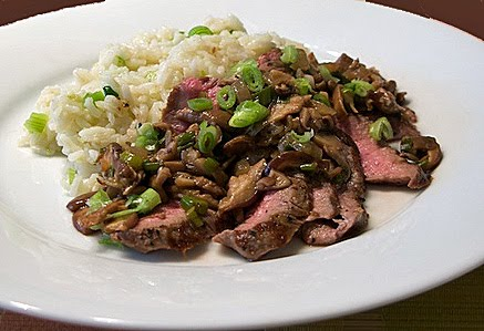 ginger sesame beef with scallions ingredients 8 oz beef sirloin or ...