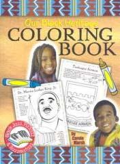 our black heritage coloring book jazz pizazz razzmatazz by carole marsh