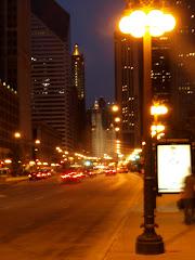 Michigan Avenue night lights