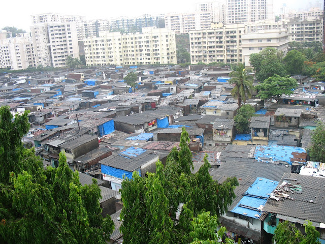 slums in Andheri, Mumbai