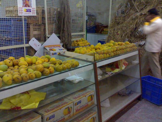 alphonso mango display