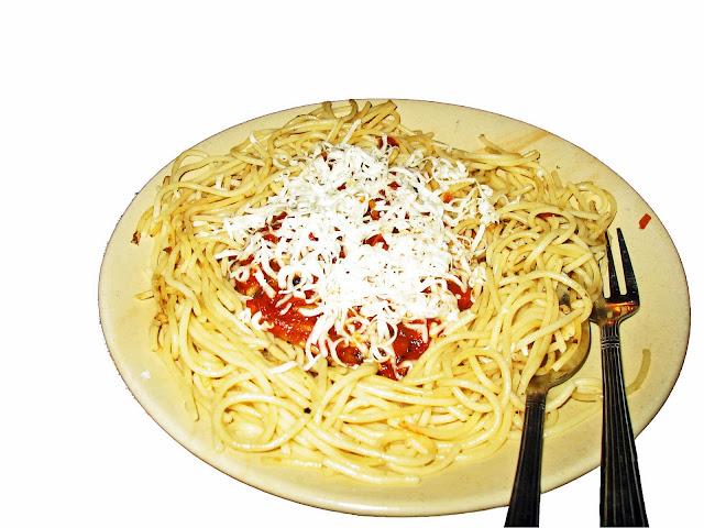spaghetti Bolognese cut-out