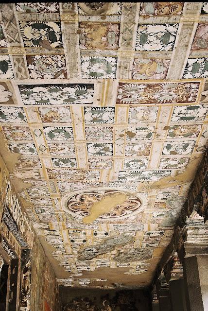 ceiling mural ajanta