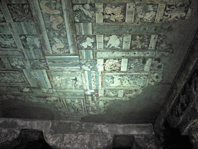 Ajanta ceiling painting