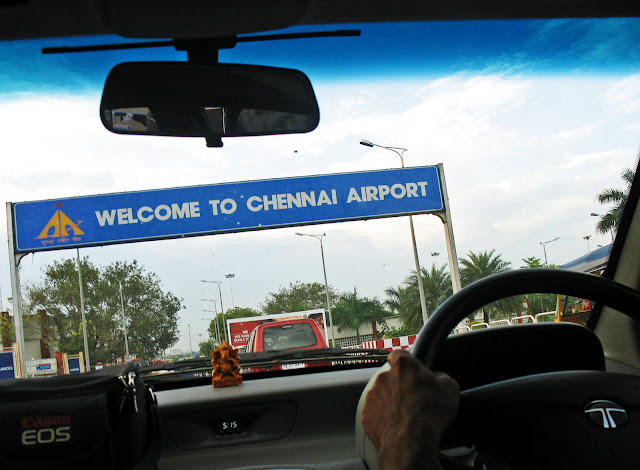 approach to chennai airport