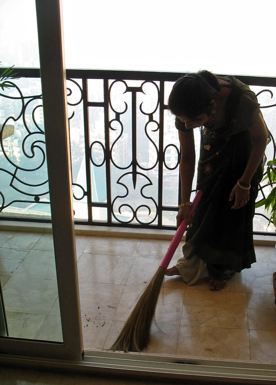 """domestic workers in india """"most domestic helps suffer from urinary tract and bladder infections, as well as the mental tension they undergo to control urination,"""" says vahidha nizam, general secretary for the all india trade union congress (aituc) domestic workers' union in tamil nadu."""