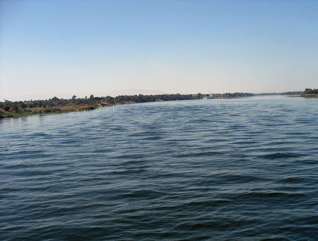 river nile distance
