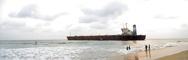 beach, sea and ship header