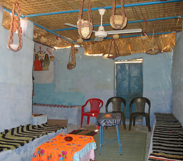 living room nubian village
