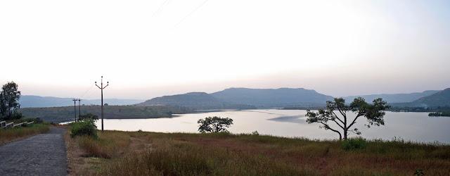 lake scene header