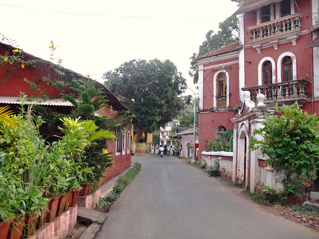 residential area in Goa