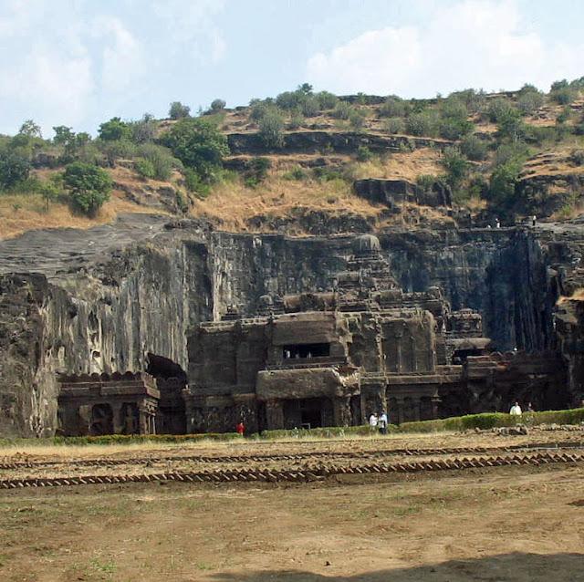 view of Kailashnath Temple