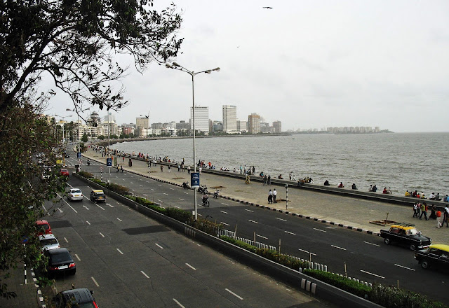 Marine Drive in South Mumbai