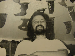 Larry in the Fibre Glas Fin Co. Show Fin Room in the 80's and 90's.