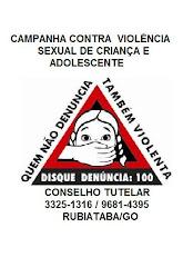 Campanha contra Violência Sexual a Criança