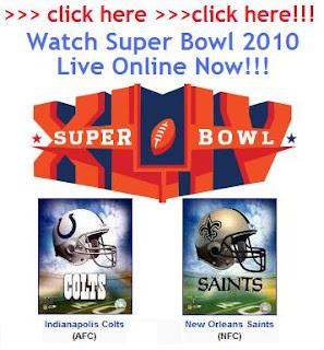 Super Bowl 44 Live