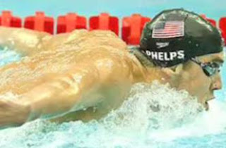 Michael Phelps 8th Gold Medal Video