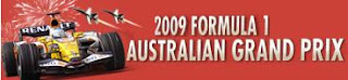 Formula One Australian Grand Prix Live