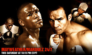 Mayweather Jr vs Marquez