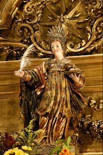 Nuestra Señora Reina de los Mártires,en la Iglesia de los Mártires, Lisboa
