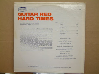 Guitar Red-Hard Times-ModArt/ MALP-1976