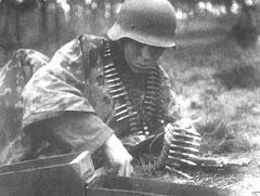 Soldado alemão em Kursk