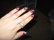 My July 4th Nails. Here are some pictures of my nails that I did for the .