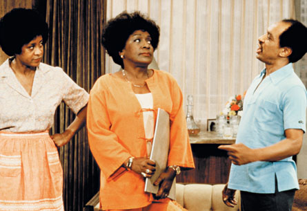 """The Jeffersons"" was actually a spin off show to ""All in the Family""."